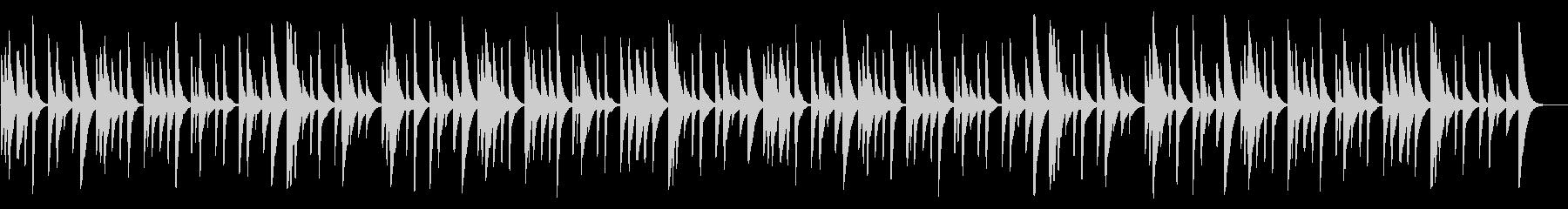 アメイジング・グレイス 18弁オルゴールの未再生の波形