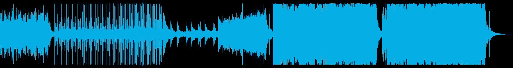 エモいサビのEDM/Future Basの再生済みの波形