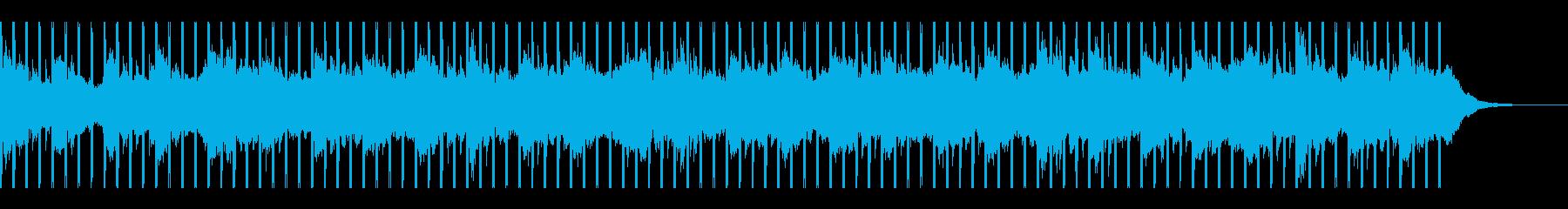 ビジネスプレゼンテーション用(60秒)の再生済みの波形