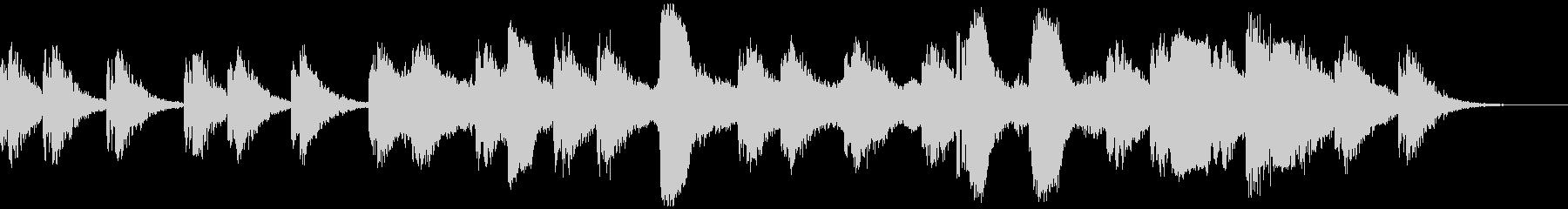 星空エレクトロニカの未再生の波形