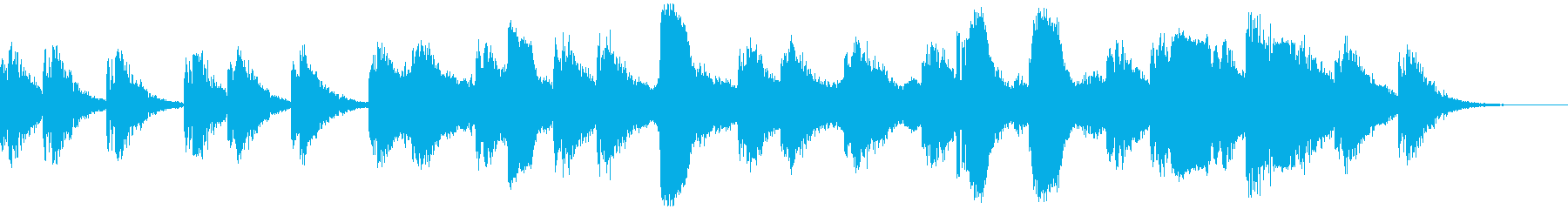 星空エレクトロニカの再生済みの波形