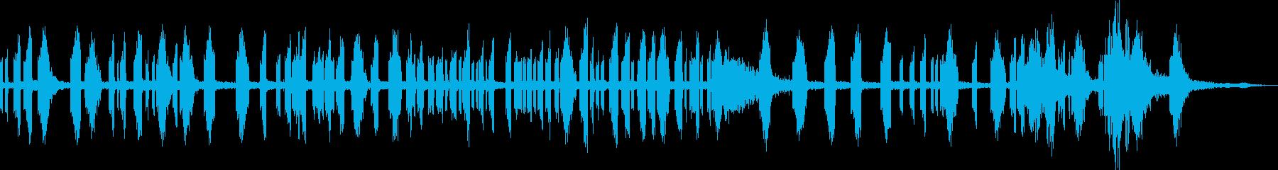 レーザーショットランブルブリップ共...の再生済みの波形