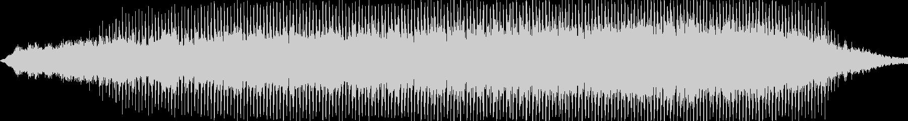 ダークで勢いのあるメロディーの未再生の波形