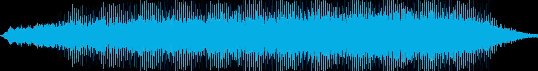 ダークで勢いのあるメロディーの再生済みの波形