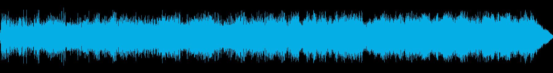 ダイナモ巻き上げスワイプ1の再生済みの波形