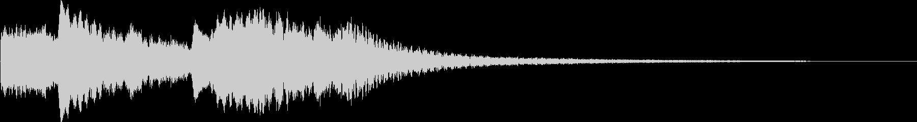 ホラーベル3の未再生の波形