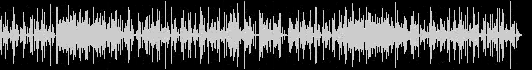 ピアノを使ったクールな感じのエレポップの未再生の波形