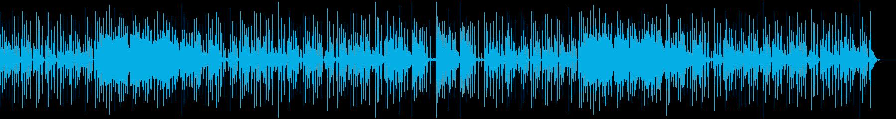 ピアノを使ったクールな感じのエレポップの再生済みの波形