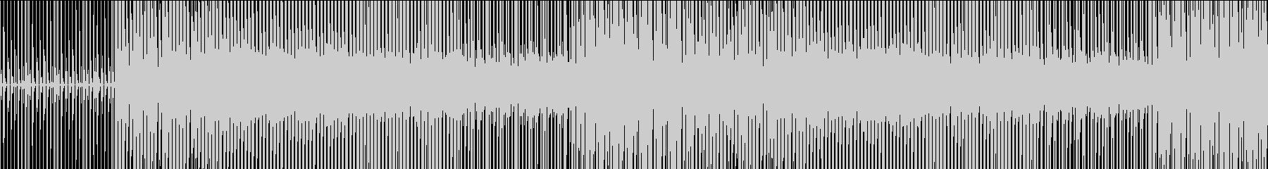 4小節のラップバトル3の未再生の波形