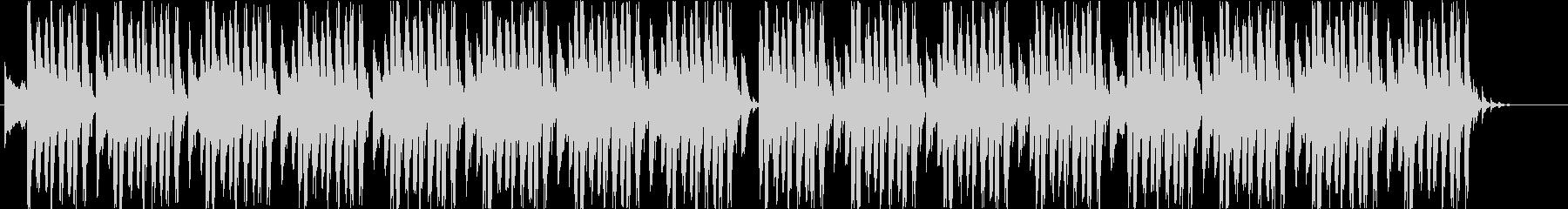 クールな4つ打ちハウスの未再生の波形