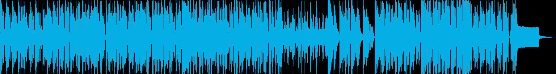 インド風のアーバンミュージックの再生済みの波形