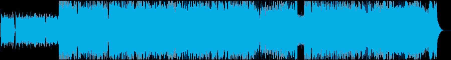 固め、濃いめ、ゴリ押しのハードロックの再生済みの波形