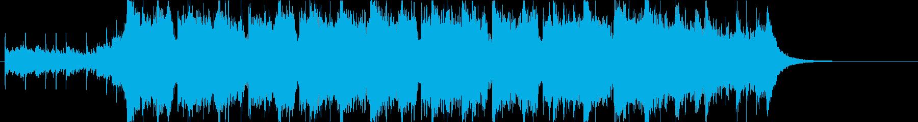 幻想的で壮大なオーケストラOPハーフaの再生済みの波形