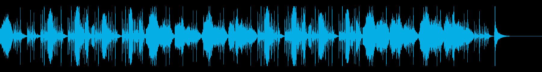 フルート、ファゴットのミステリアスな曲の再生済みの波形