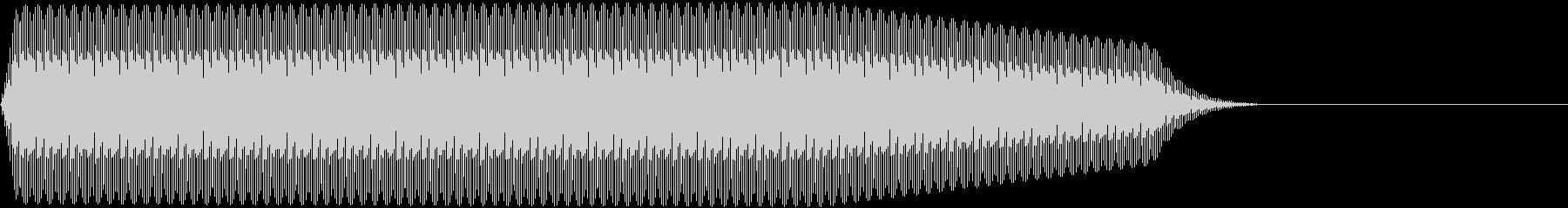 DENSHION ハイトーンな電子音 7の未再生の波形