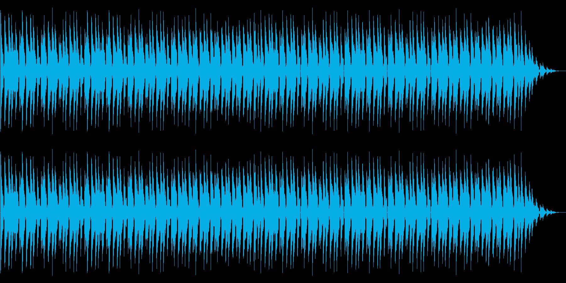 GB風RPGのエンディング曲の再生済みの波形