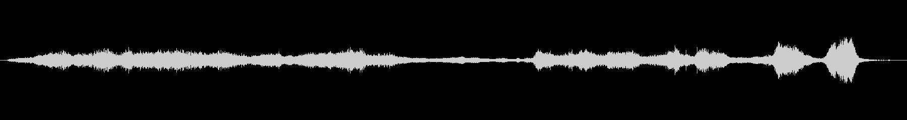 メタル 鳴き声シーケンス01の未再生の波形