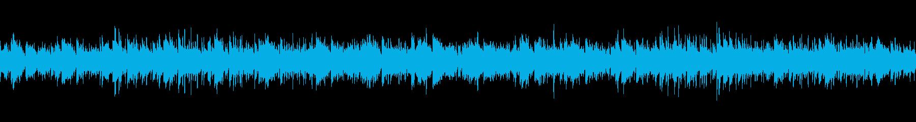 お祭りをイメージ、明るいケルト風ループの再生済みの波形