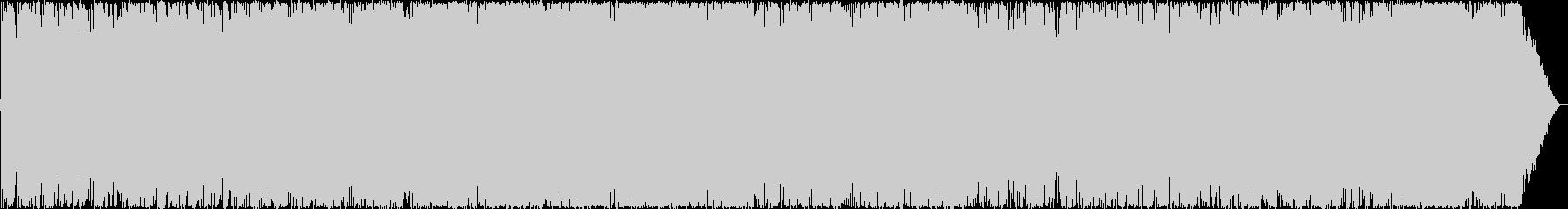 落ち着いた様子のポップロックの未再生の波形