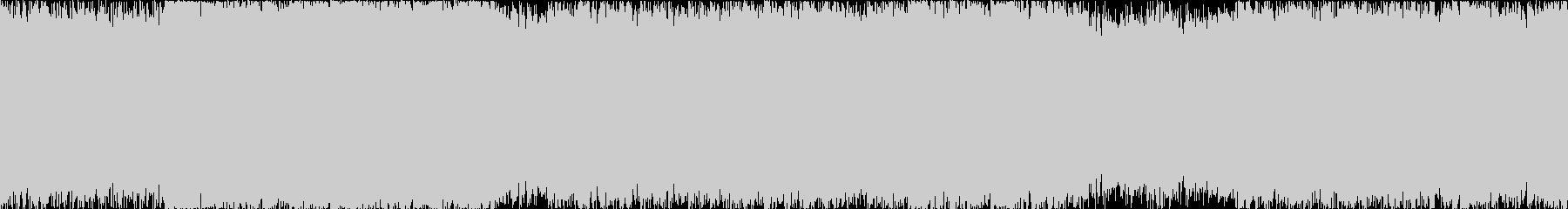 【ループ】壮大で激しく疾走感のある戦闘曲の未再生の波形