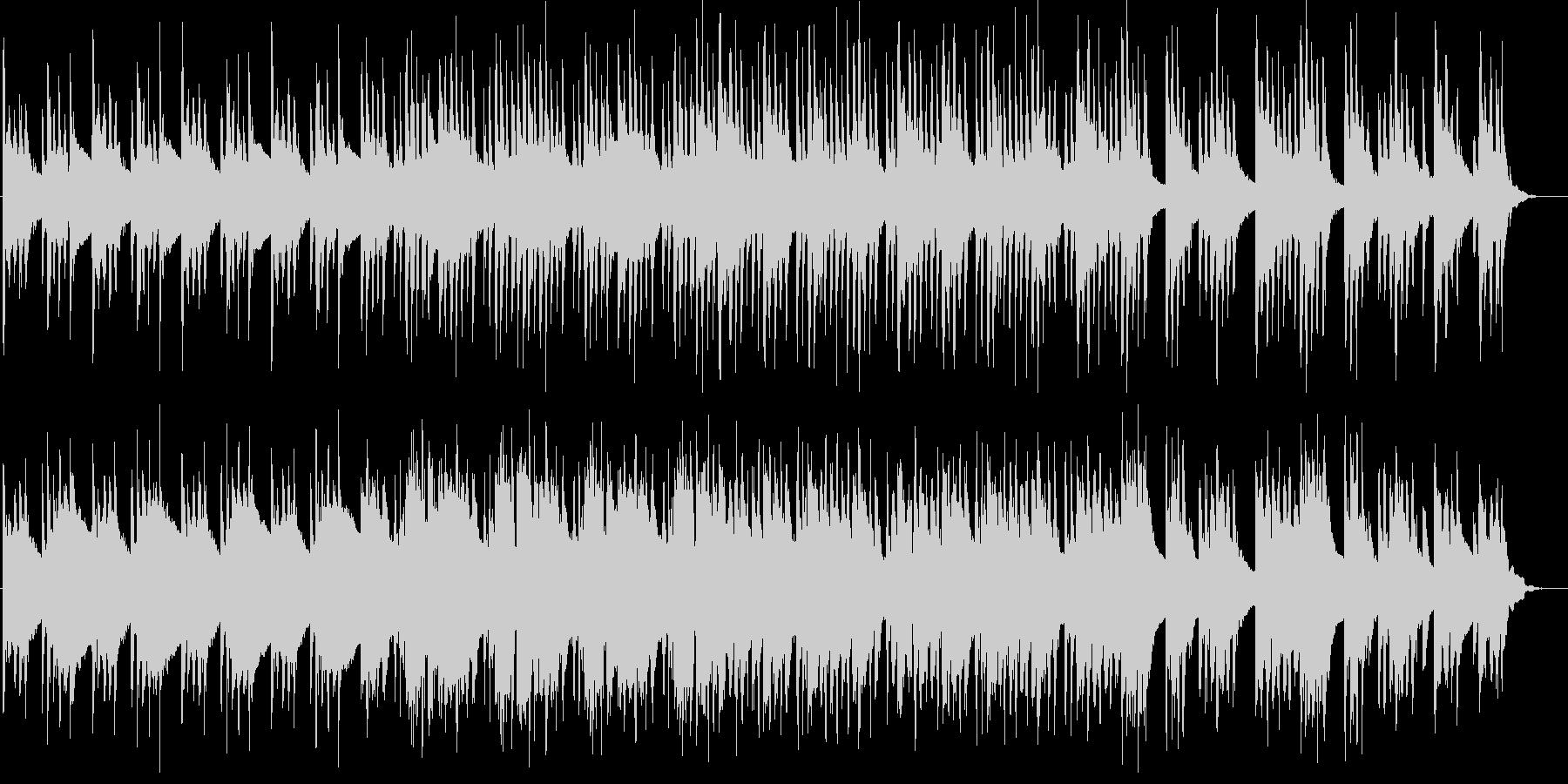 ストリングスとオルゴールの優しい和風曲の未再生の波形