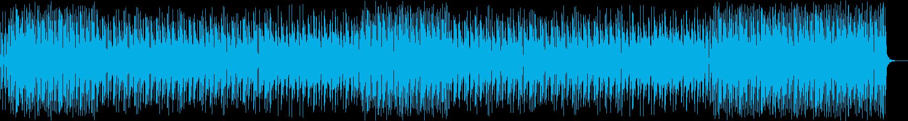 明るい、陽気な短めポップインストの再生済みの波形