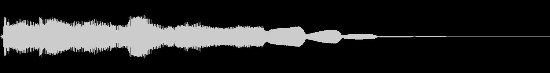 ロックブルースバンパー8の未再生の波形