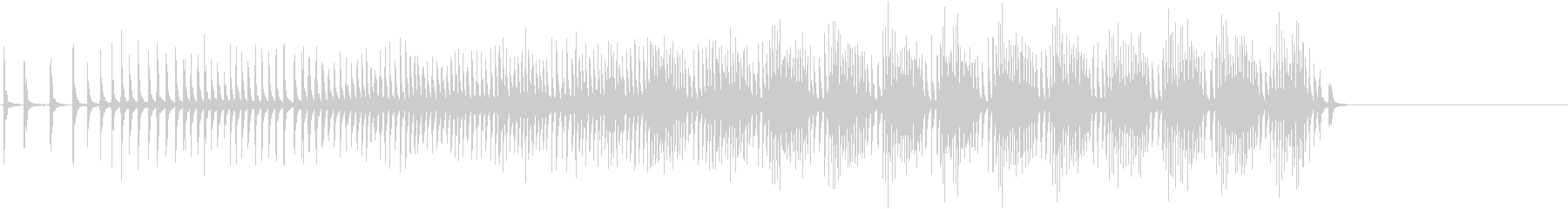 クランク付きラチェット:加速風、漫...の未再生の波形