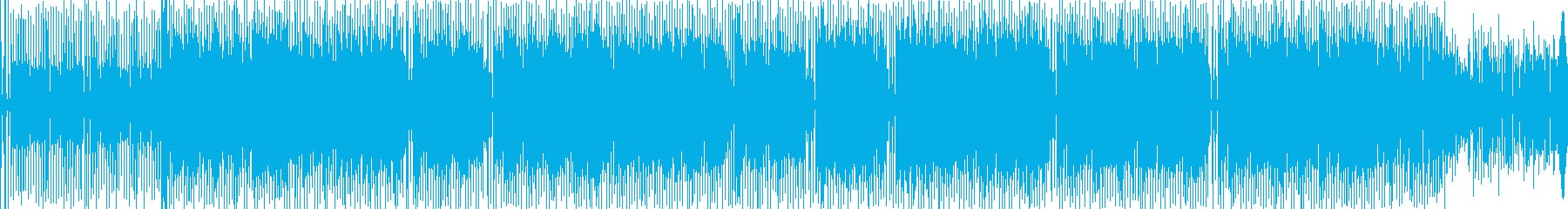 クールでグルーブ感あふれるテクノの再生済みの波形