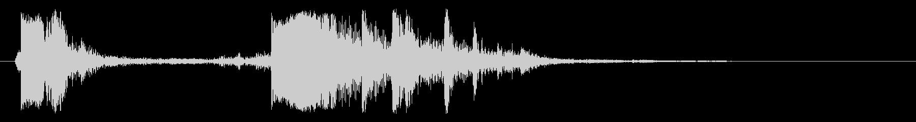 キンッカラ(ウインドウ移動)の未再生の波形
