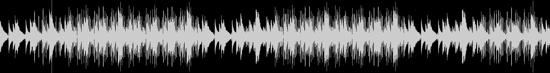 ピアノ・緊迫・ヒップホップ・孤独・ループの未再生の波形