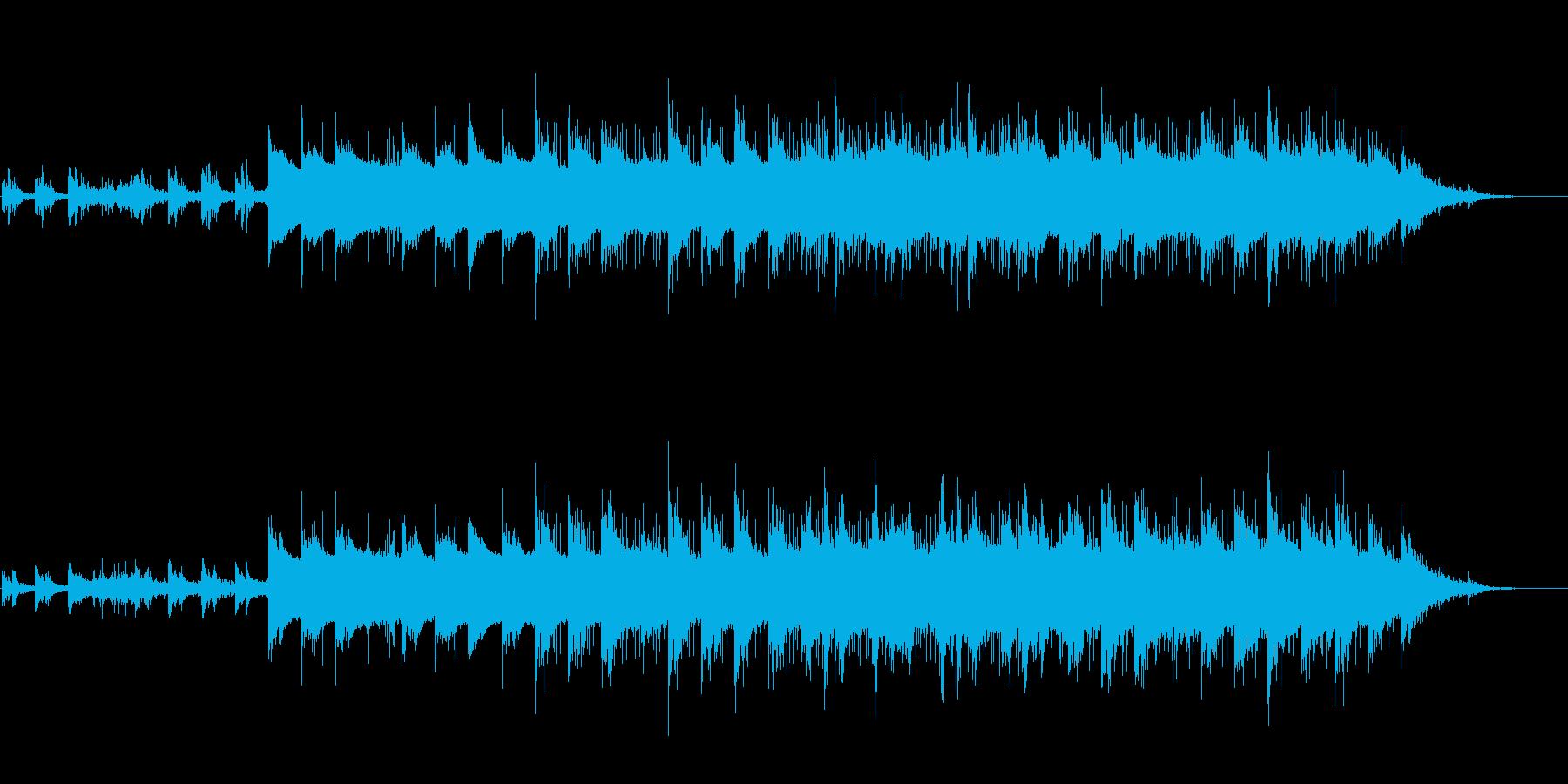 切ない 秋 ピアノ ギター バラードの再生済みの波形