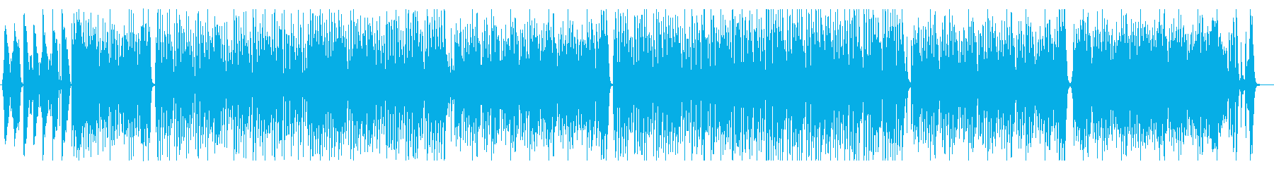 シュールでブルージーな楽曲の再生済みの波形