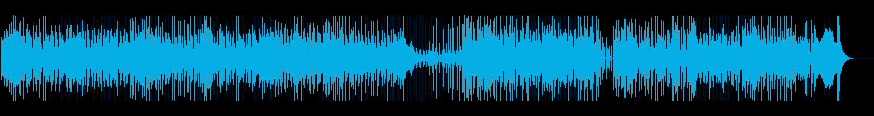 ちょっとイナたいロックンロールの再生済みの波形