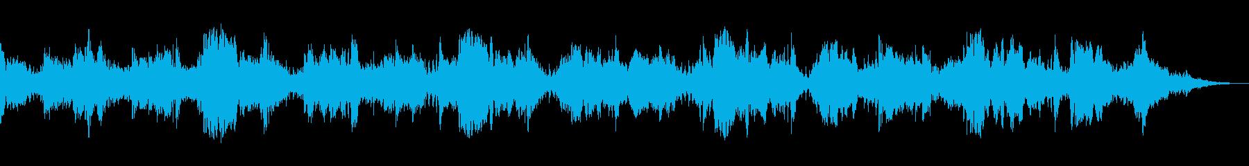 背景音 ホラー 16の再生済みの波形