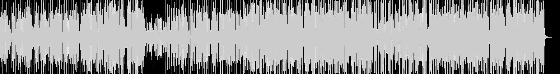 筋ᕦ(・ㅂ・)ᕤ肉・ガチムチテクノ Bの未再生の波形