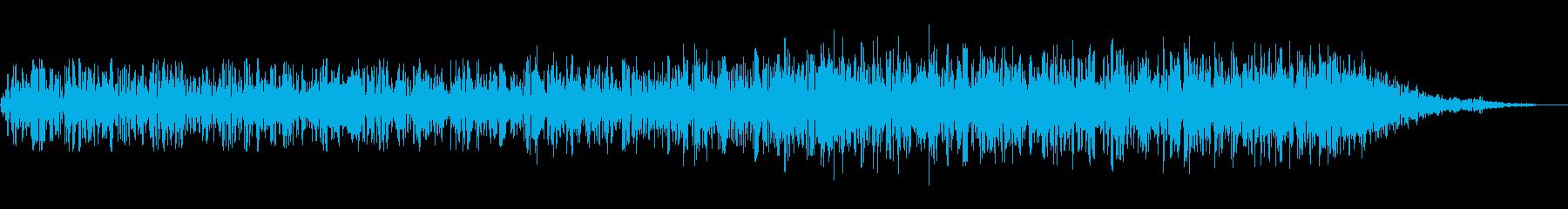 地震/地鳴り/地響き/ゴゴゴゴ/揺れの再生済みの波形