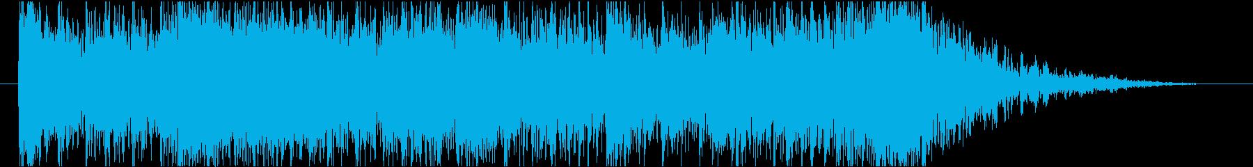 【オーケストラ】敵からの逃走・脱出の再生済みの波形