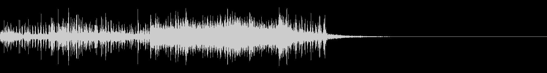 スパーク音-15の未再生の波形