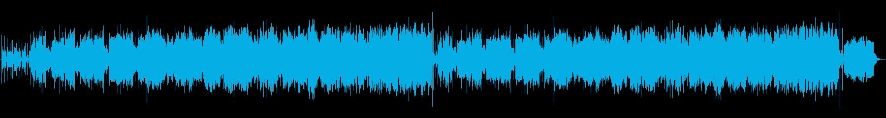 アラビラ風(中東)のリズミカルなBGMの再生済みの波形