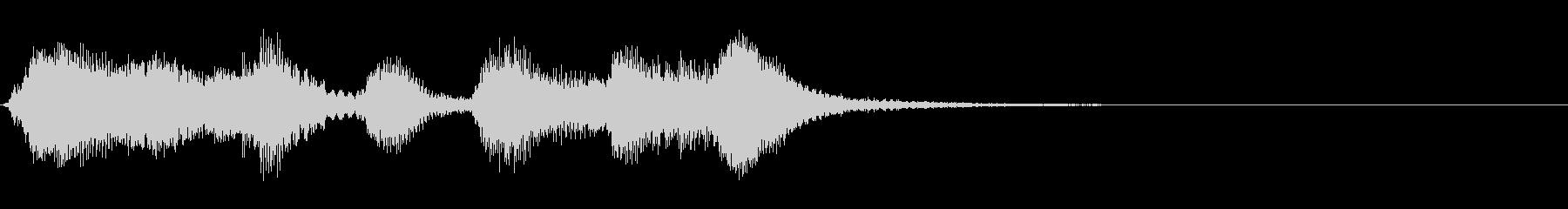 弦楽四重奏ジングル05_ほのぼのの未再生の波形