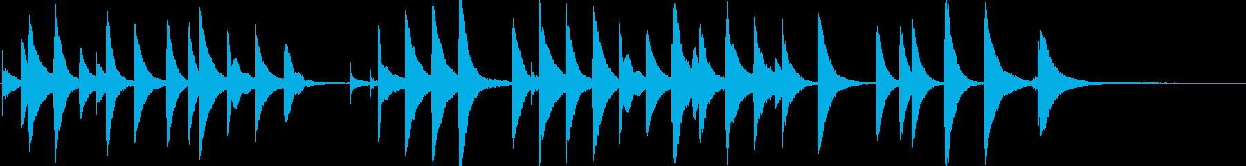 誕生日おめでとう(オルゴール)の再生済みの波形