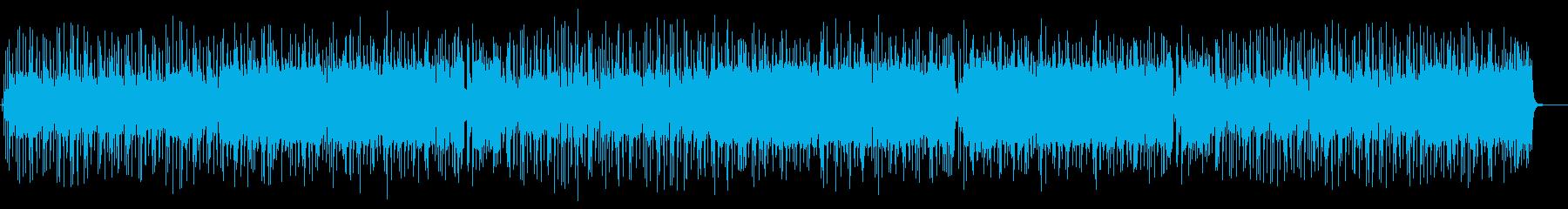 ブルース・カントリー風のインストの再生済みの波形