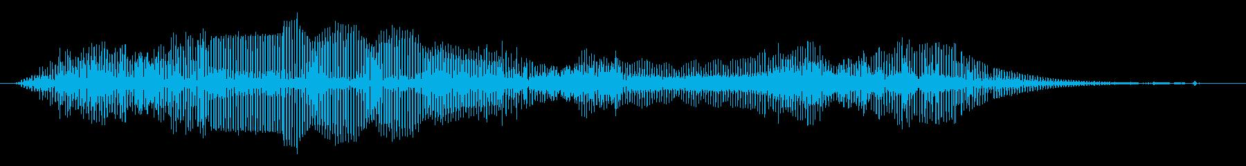 機械 不安定なムービングベースロング01の再生済みの波形