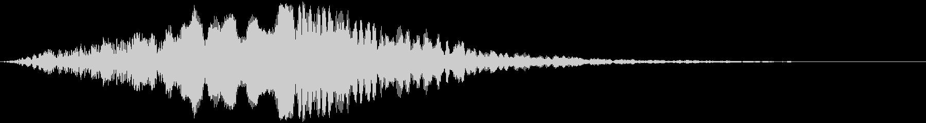 ブーン!!(映画タイトル・サウンドロゴ)の未再生の波形