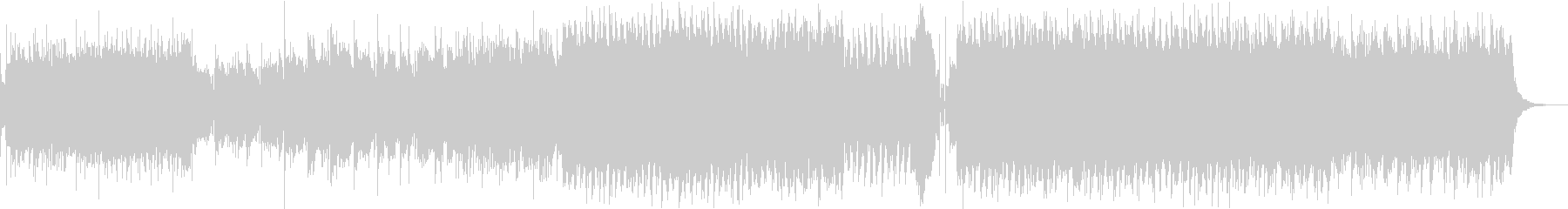 サイバー感あるロック曲:ヴァイオリンの未再生の波形