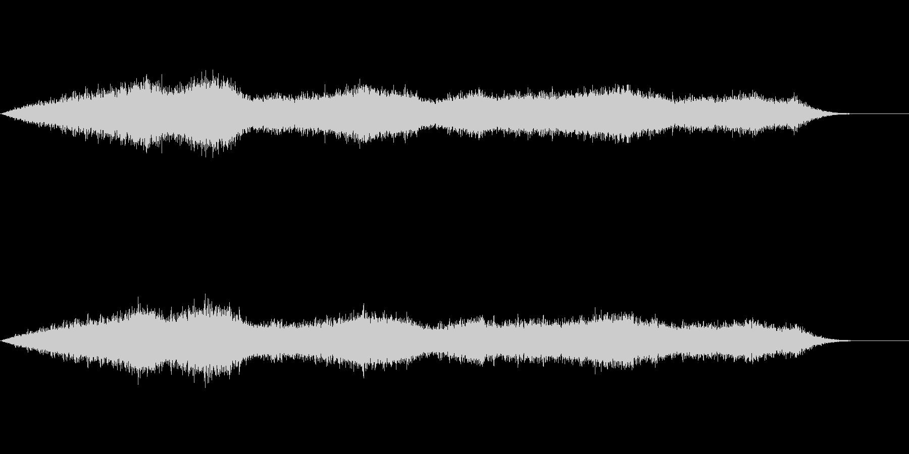 雨の音(ロングバージョン)の未再生の波形