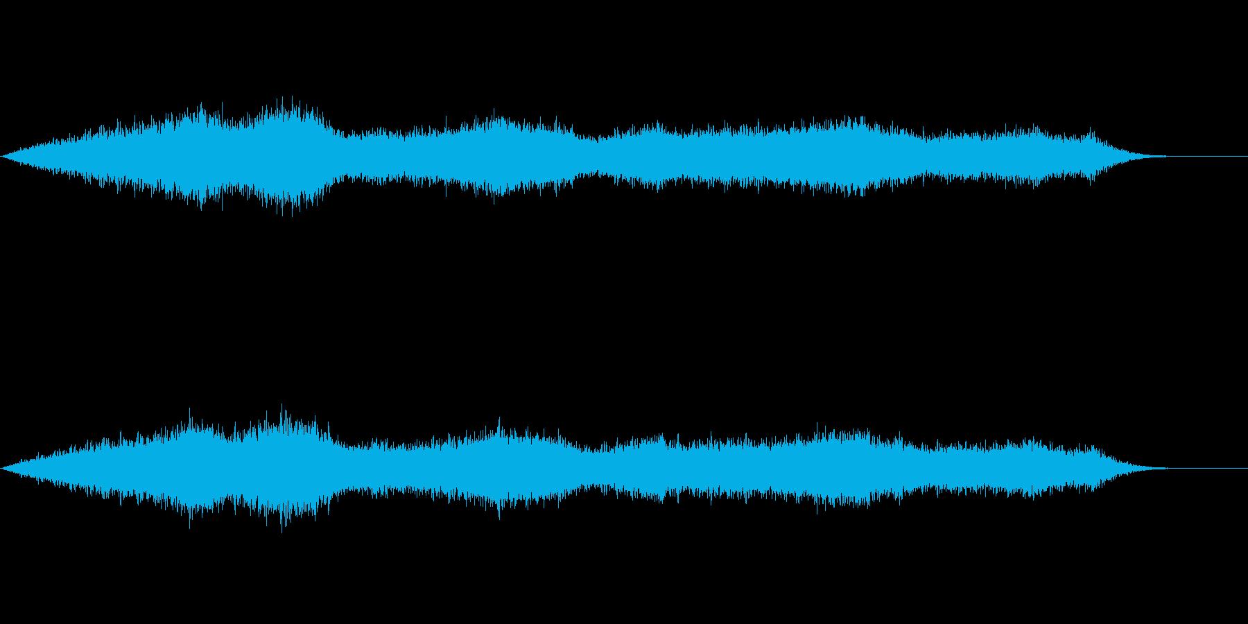 雨の音(ロングバージョン)の再生済みの波形