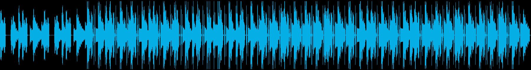 エレピ Lo-fi HipHopの再生済みの波形