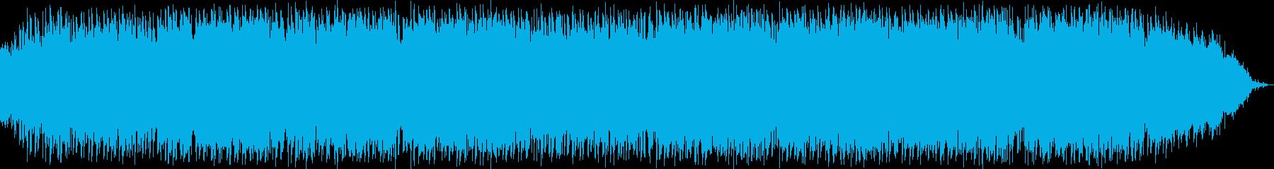 静かな竹笛の瞑想音楽の再生済みの波形